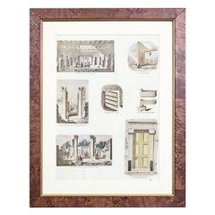20th-Century Graphic / Antique, Architecture