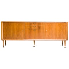 Dutch Sideboard in Walnut by A.A. Patijn