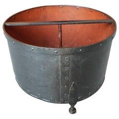 19th Century Wrought Iron Grain Size