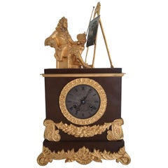 Bronze Clock Charles X Bousse Paris