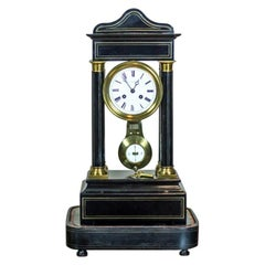 19th Century French Mantel Clock, Signed H. Lefoye