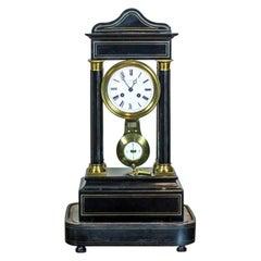 19th Century French Mantel Clock, Signed H. Lefoye