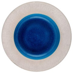 Kähler, Denmark, Glazed Stoneware Dish 1960s, Designed by Nils Kähler