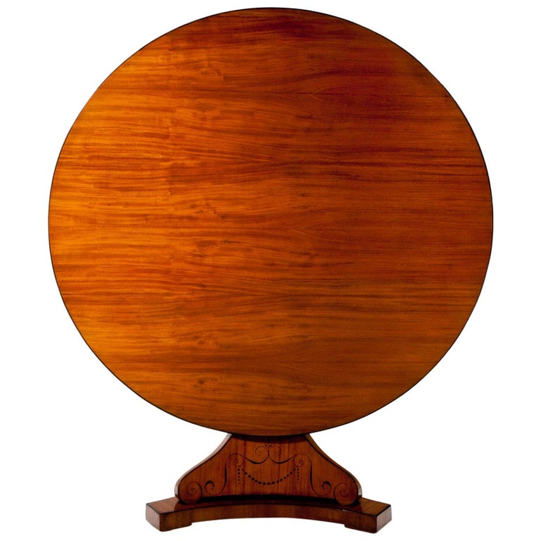 Biedermeier Salon Table, First Half of the 19th Century