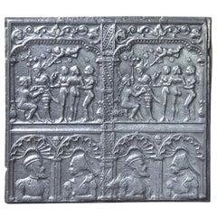 Exceptional 'Judgement of Paris' Fireback, 16th Century