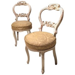 Victorian Corner Chairs