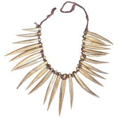 Elegant 19th Century Fijian Wasekaseka / Waseisei necklace, Ex UK Collection
