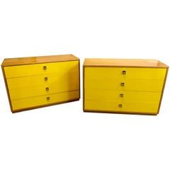 Pair of Founders Mid-Century Modern Bachelors Chests or Nightstands or Commodes
