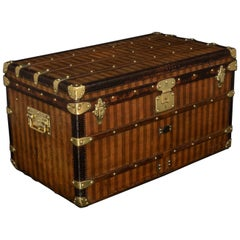 Rare Striped Louis Vuitton Trunk, circa 1885