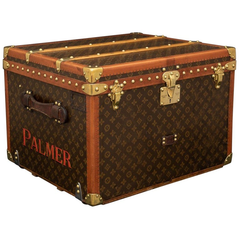 Louis Vuitton Trunk steamer trunk, circa 1935