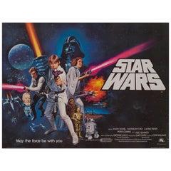 'Star Wars' British Film Poster, 1977