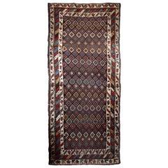 Handmade Antique Northwest Persian Rug, 1880s