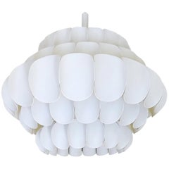 Swedish Hans-Agne Jakobsson Pendant Lamp Chandelier, Thorsten Orrling, 1960s