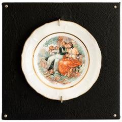 """""""Untitled #7"""", from Los Infortunios de la Virtud, Porcelain Plate"""