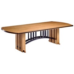 Gramercy Tavern Dining or Desk Table, Handmade and Designed by Gregg Lipton