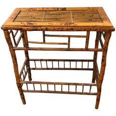 Vintage Chinese Authentic Bamboo Console
