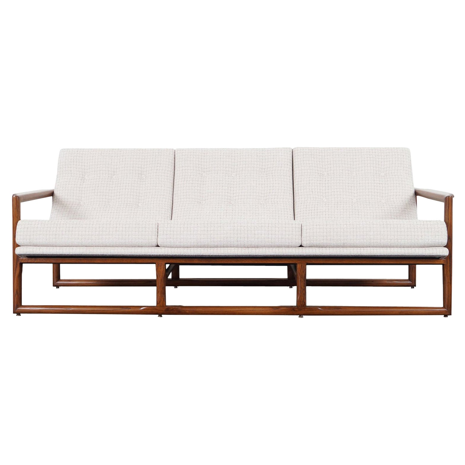 "Midcentury ""Cube"" Sofa Attributed to Milo Baughman"