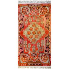 Exceptional Early 20th Century Khotan Rug