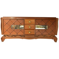 Large Art Deco Buffet Marked EBMA