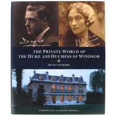 Private World of The Duke and Duchess of Windsor by Hugo Vickers, 1st Ed