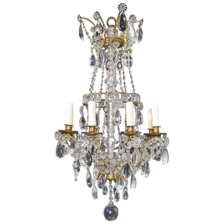 Antique Chandelier, Louis Philippe Style