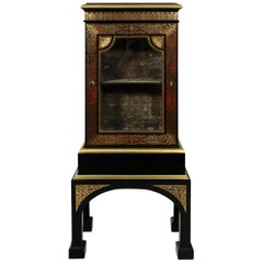 French Boulle Style Cabinet, circa 1840