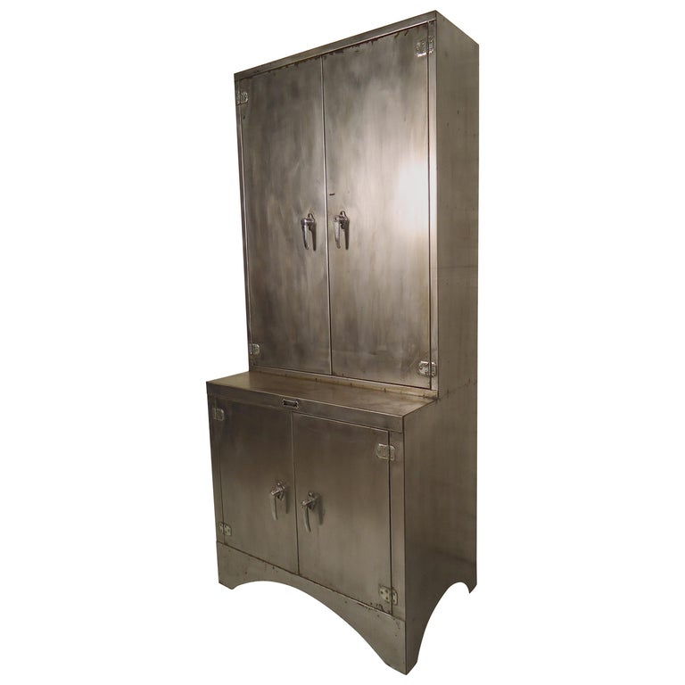 Industrial Metal Tall Cabinet