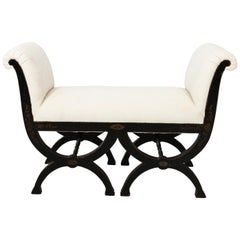 Hollywood Regency Benches