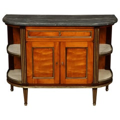 Louis XVI Marble-Top Cabinet