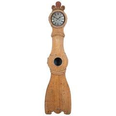 18th Century Swedish Rococo Mora Clock