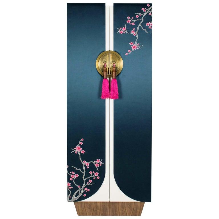 Mokimono, Handmade Traditional Japanese Style Dressing and Storage Unit For Sale