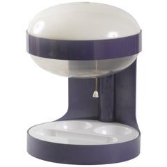 Kartell KD29 Desk Light Joe Colombo circa 1970 Purple