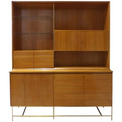 Rare Mid-Century Modern Breakfront by Paul McCobb for Calvin Furniture
