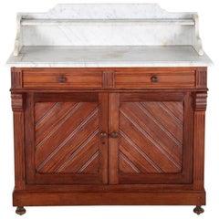 19th Century Pitch Pine Washstand