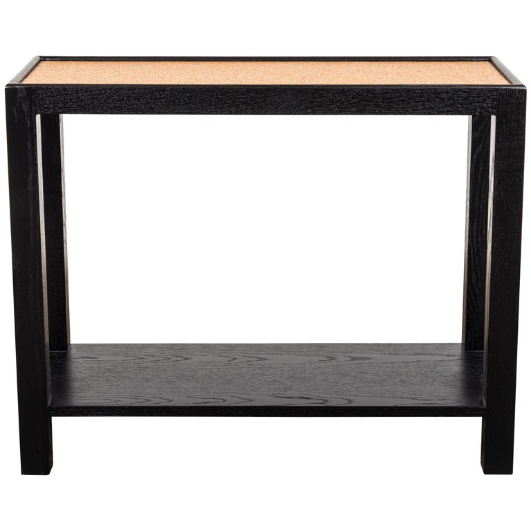 Rectangle Narrow Side Table by Lawson-Fenning For Sale