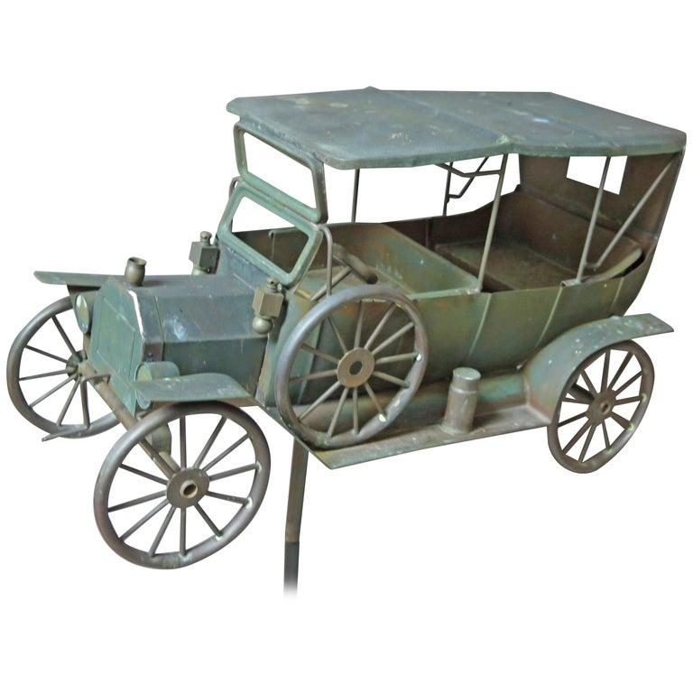 Automobile Copper Weathervane