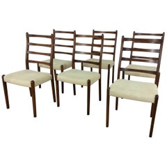 Midcentury Rosewood Dining Chairs