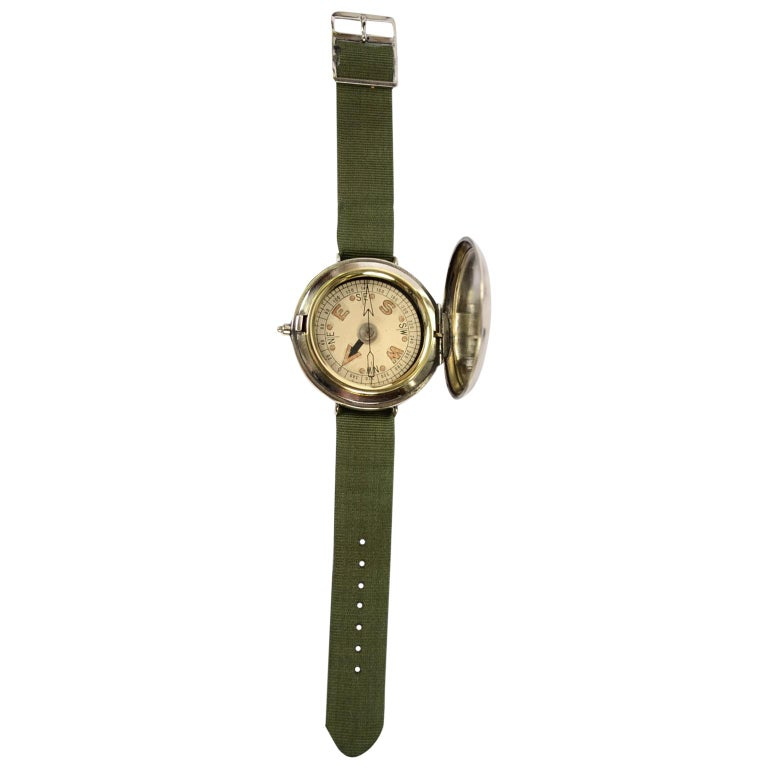 Aeronautical Wrist Compass for RAF Officers During the First World War
