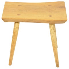 Massive Wooden Stool