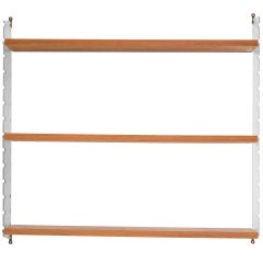 Architectural Nisse Strinning Shelving Unit in Plexiglass