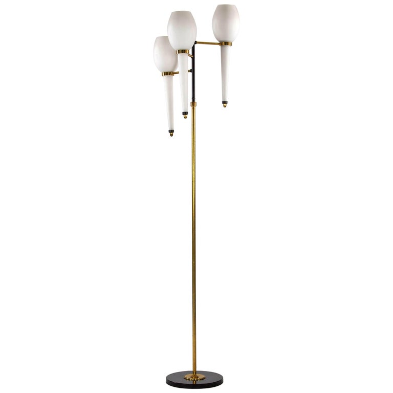 Floor Lamp, Design and Manufacturing by Stilnovo, Italy, 1950s