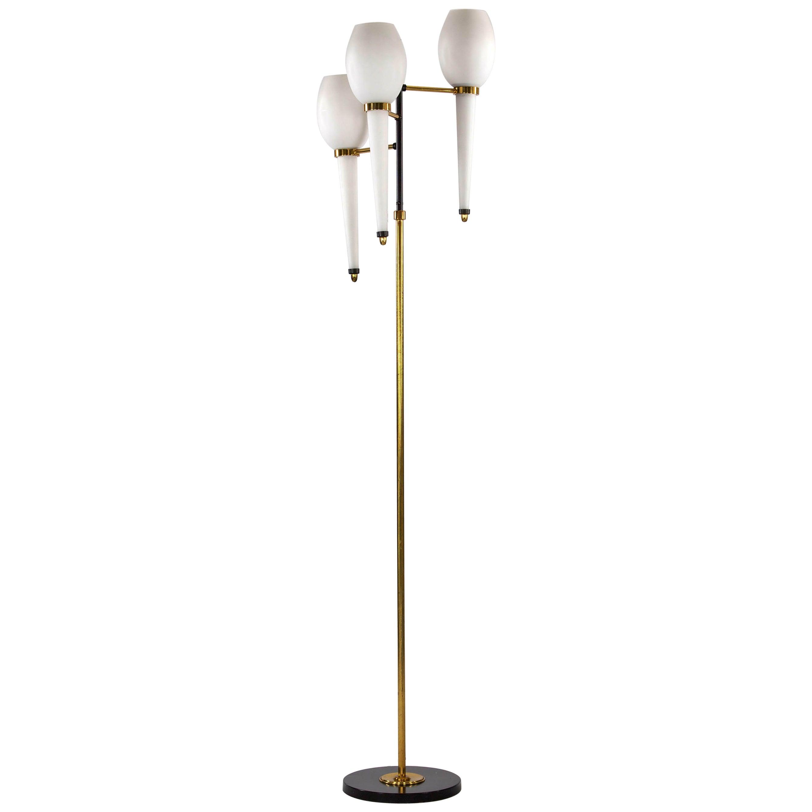 Stilnovo Italian Floor Lamp, 1950s