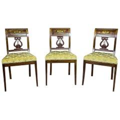 Empire Mahogany Chairs, circa 1810