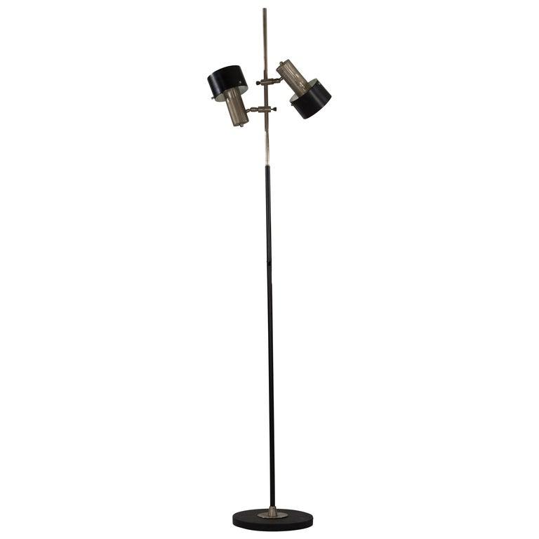 Floor Lamp, Design by Stilnovo, Italy, 1960s For Sale