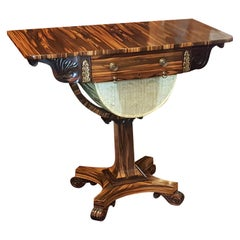 Regency Coromandel Work Table