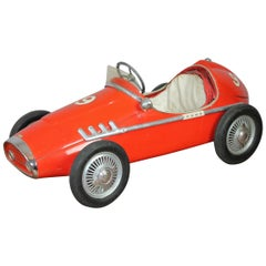 Ferrari Pedal Car by Corrado and Remondini, Italy, Child's Racer Car, 1950s