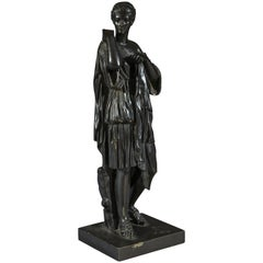 Late 19th Century Bronze Statue of Diane De Gabries