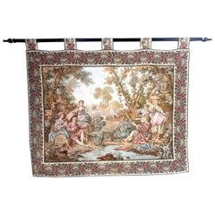 Prewar Tapestry on a Rod, circa 1920-1930