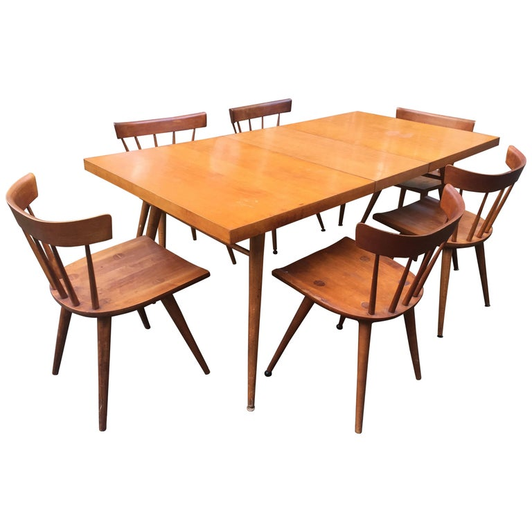 Paul McCobb Planner Group Dining Set For Sale