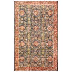 Antique Oversized Arts and Crafts William Morris Design Rug